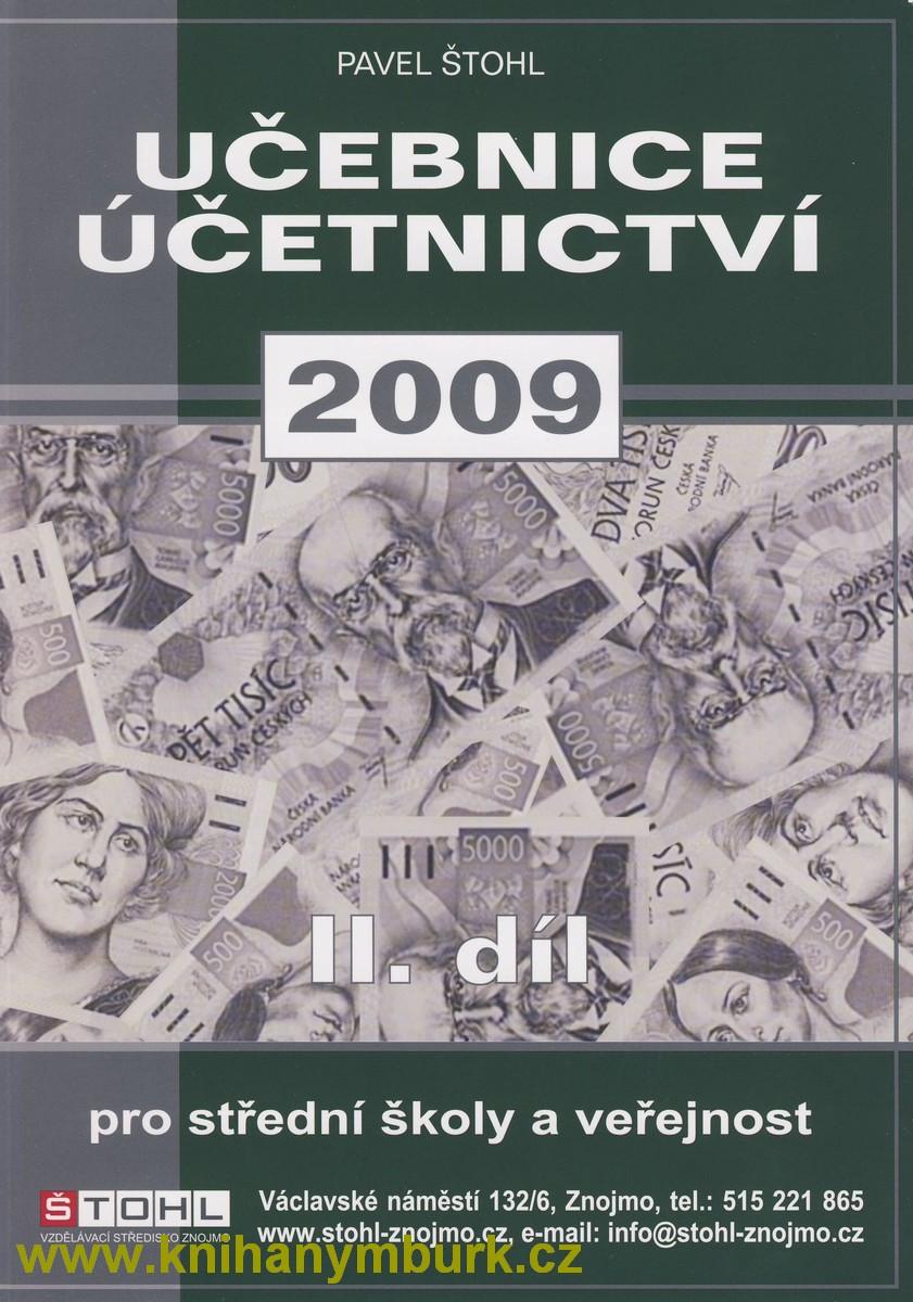 Učebnice účetnictví 2009 pro střední školy a veřejnost, 2.díl - Náhled učebnice