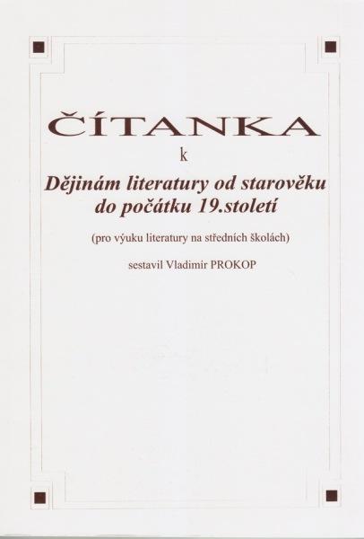 Čítanka k Dějinám literatury od starověku do počátku 19. století - Náhled učebnice