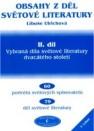Obsahy z děl světové literatury, Vybraná díla světové literatury dvacátého století