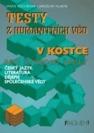 Testy z humanitních věd, literatura, český jazyk, dějepis, společenské vědy