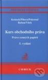 Kurs obchodního práva, právo cenných papírů - Náhled učebnice