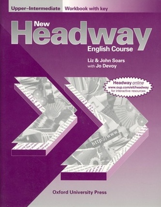 New Headway, English course. Upper-intermediate. Workbook (with key)