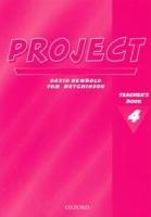 Project 4 Teacher´s book