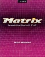 Matrix: foundation. Student's book