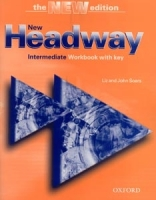 New Headway, the NEW Edition (The 3rd Edition). Intermediate. Workbook with key
