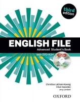 New English File ADVANCED student book +cd
