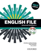 English File Advanced Multipack A + CD - third edition