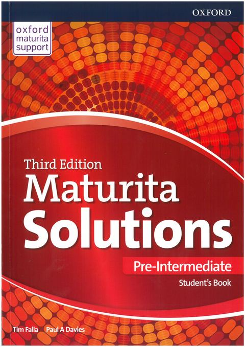 Maturita Solutions: Pre-intermediate Student's Book (3rd edition)