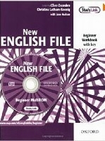 NEW ENGLISH FILE BEGINNER WORKBOOK WITH KEY+ MultiROM PACK -.