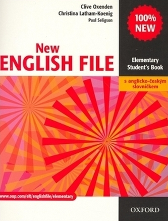 New English File Elem. SB+A-Č slov.