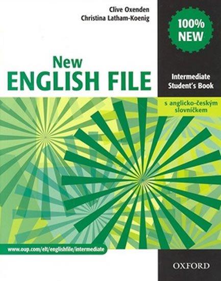 New English File Int. SB + A-Č slov. - Náhled učebnice