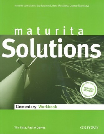 Maturita Solutions Elementary (Workbook)