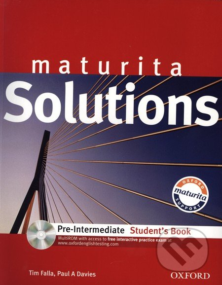Maturita Solutions Pre-Intermediate Student's Book