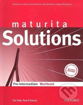 Maturita Solutions Pre-Intermediate Workbook