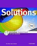 Maturita Solutions Intermediate Student's Book + CD-ROM