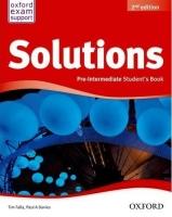 SOLUTIONS 2nd Edition PRE-INTERMEDIATE STUDENT´S BOOK Intern. - Náhled učebnice