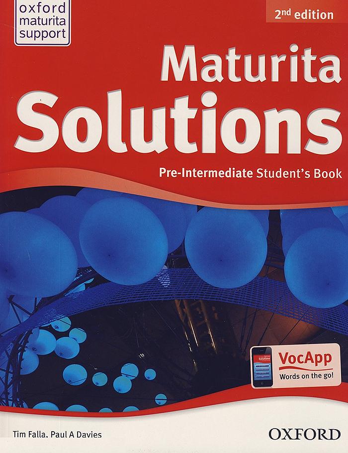Maturita Solutions 2nd edition book