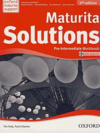 Maturita Solutions: Pre-intermediate Workbook (2nd edition)