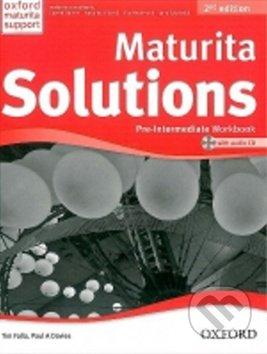 Maturita Solutions Pre-Intermediate Workbook + CD