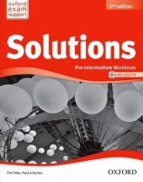 SOLUTIONS 2nd Edition PRE-INTERMEDIATE WORKBOOK WITH AUDIO C.