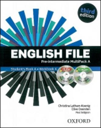 English File pre-intermediate MultiPack A