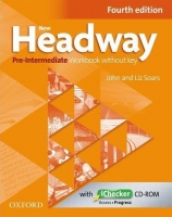 new headway Pre-Intermediate Workbook without key Fourth edition