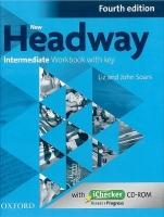 New Headway Intermediate Workbook with key