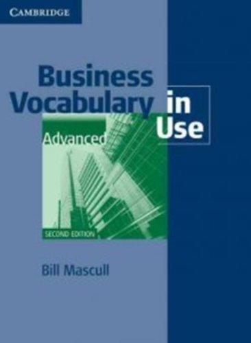 Business Vocabulary in Use Advanced with Answers - Náhled učebnice