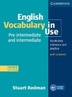 English Vocabulary in Use Pre-intermediate and Intermediate with Answers - Náhled učebnice
