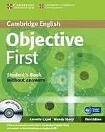 Cambridge English, Objective first, Student´s book without answers