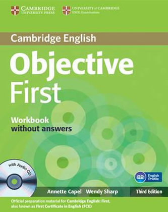 Cambridge Englishy Objective first, workbook without answers