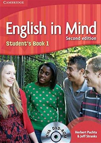 English in Mind Level 1 Student's Book with DVD-ROM - Náhled učebnice