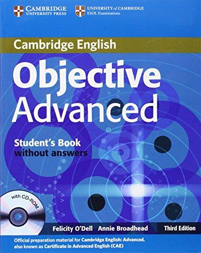 Objective Advanced 3rd edition Student´s Book without answers with CD-ROM