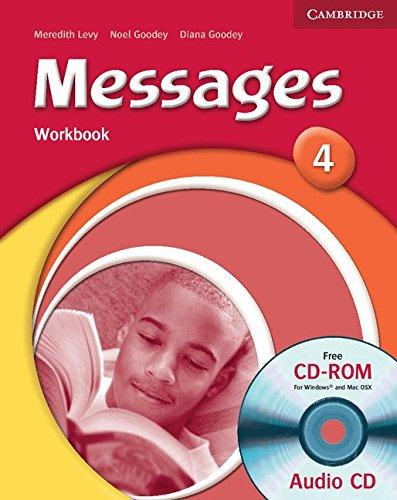 Messages 4 - Workbook, CD-ROm