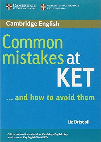 Common Mistakes at KET, And How to Avoid Them