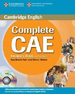Cambridge Complete CAE – Student´s Book + CD ROM