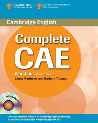 Cambridge Complete CAE – Workbook + Audio CD