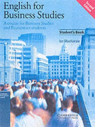 English for Business Studies (Student's Book)