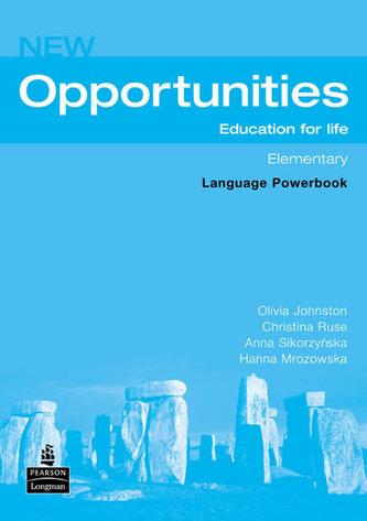 New opportunities. Elementary. Powerbook. Per le Scuole superiori