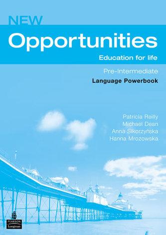 New opportunities. Pre-intermediate. Powerbook. Per le Scuole superiori