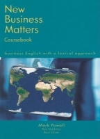 New Business Matters Coursebook, Business English With a Lexical Approach