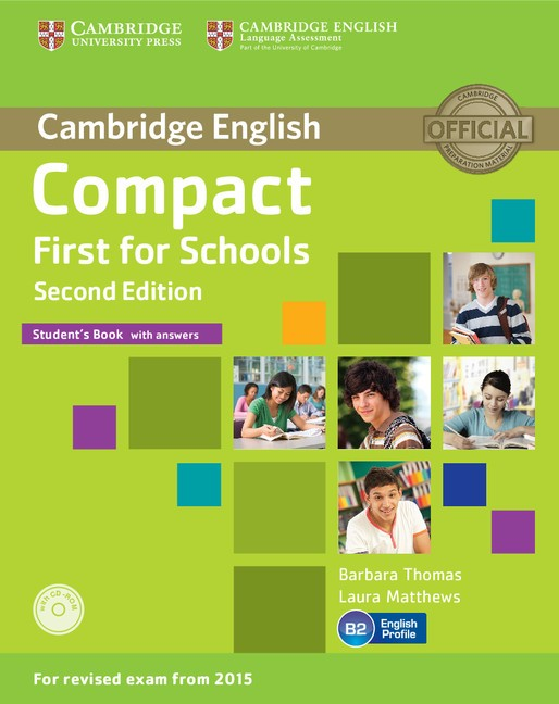 Compact First for Schools, Second Edition - Student's Book - Náhled učebnice