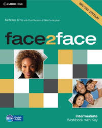 Face2face Workbook With Key Second Ed. Intermediate