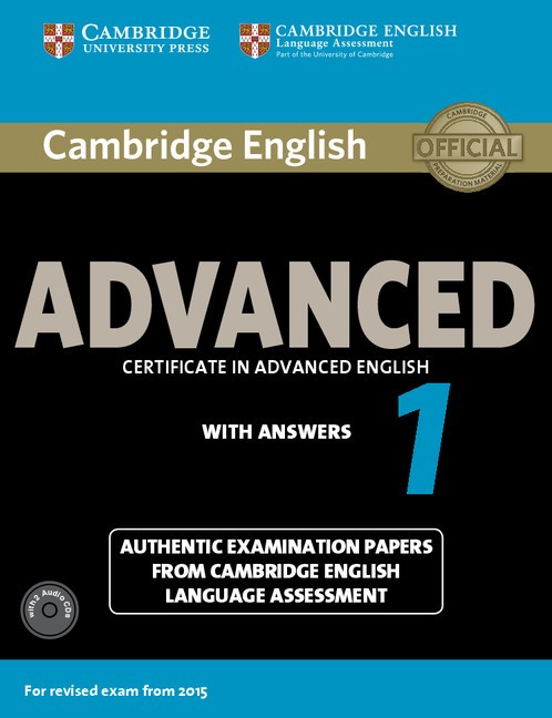 Advanced certificate in advanced English 1