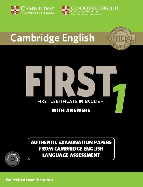Cambridge English First 1 with answers - Náhled učebnice
