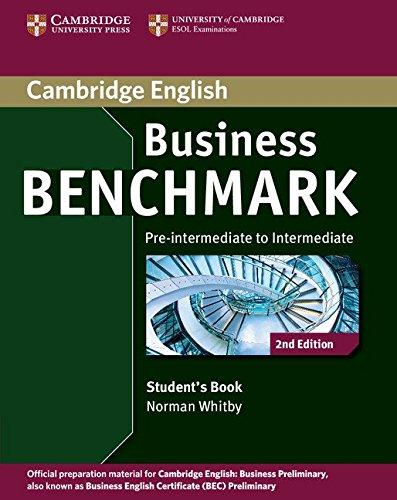 Business Benchmark Student´s Book 2nd edition