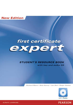 Expert First Certificate 2008: Student's Resource Book