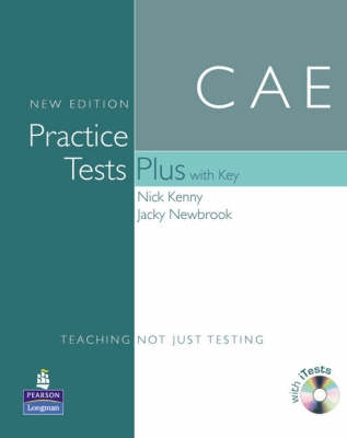 CAE practice tests plus, with key