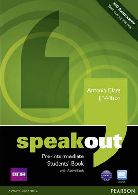 Speakout. Pre-intermediate. Student's book with ActiveBook + DVD - Náhled učebnice