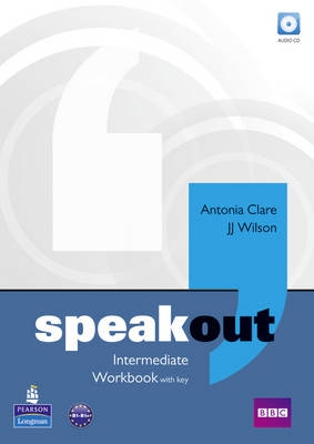 Speak out Intermediate workbook with key - Náhled učebnice
